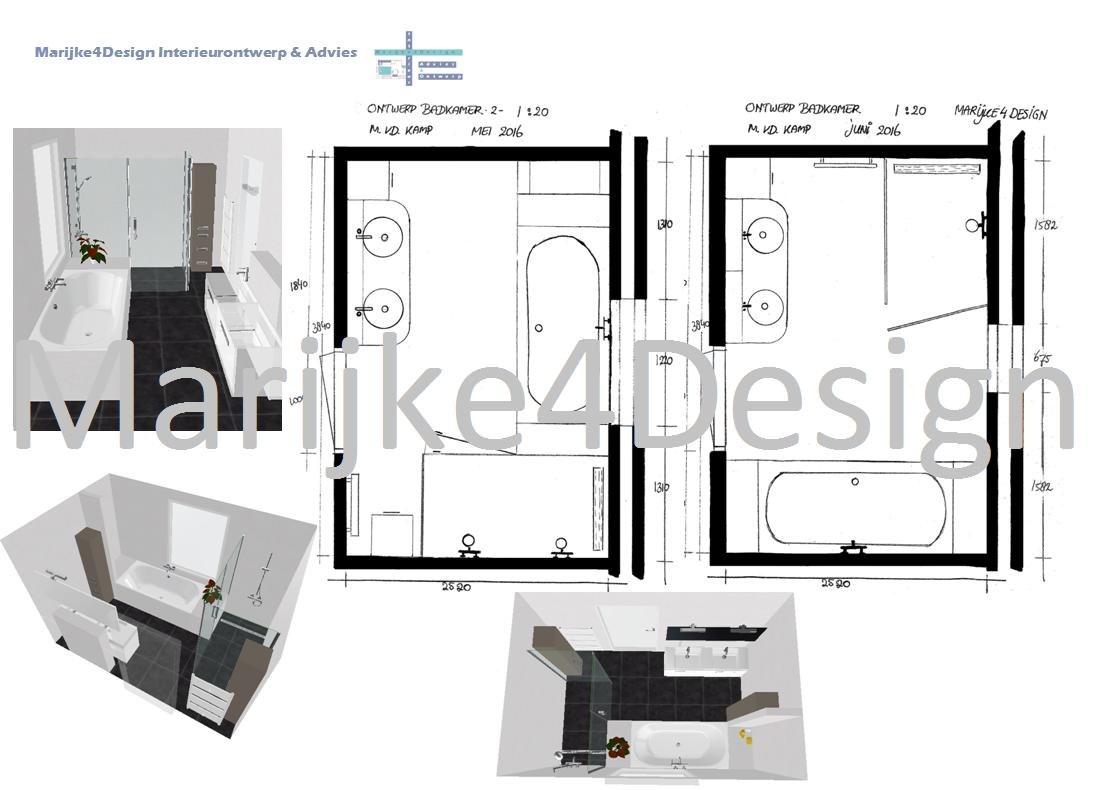 Zevenhuizen nieuwbouwwoning ontwerp badkamer