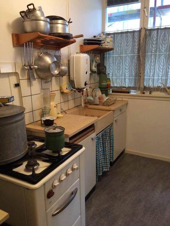 keuken uit de jaren 60