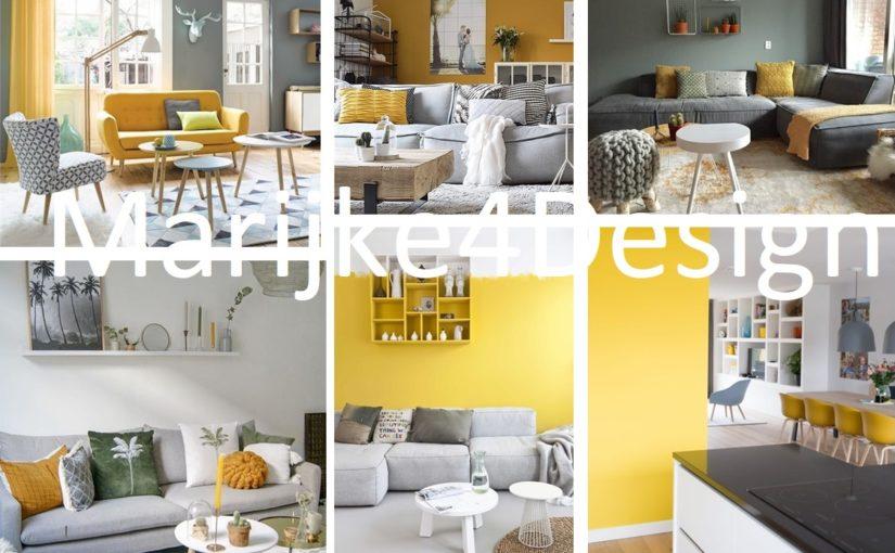 Kleur bekennen in je interieur – geel, het zonnetje in huis!