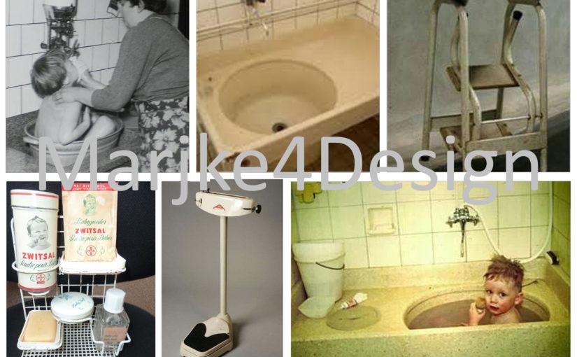 Terugblik: de badkamer in de jaren 60-70