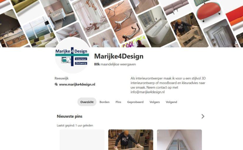 Interieurontwerp, moodboard en Pinterest: een goede combinatie met vandaag 80k kijkers per maand!
