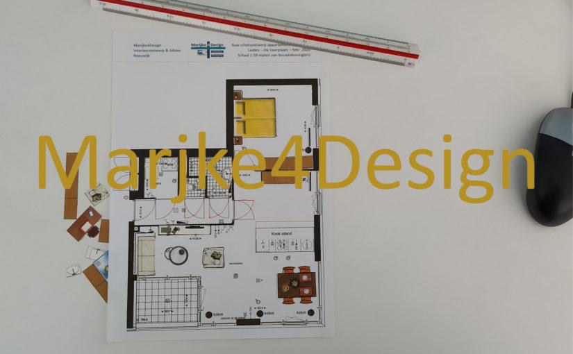 Ontwerp appartement Leiden